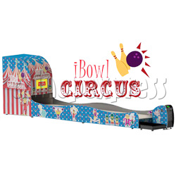 "I-Bowl Circus bowling machine (with 22"" LCD Screen)"