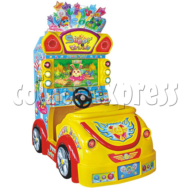 Super Car Kids Driving machine 31447