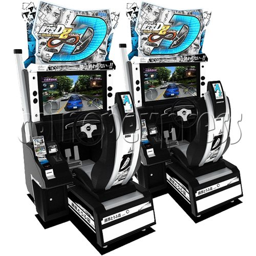 Initial D' Arcade Stage Version 8 Infinity (2 players with server)  32452