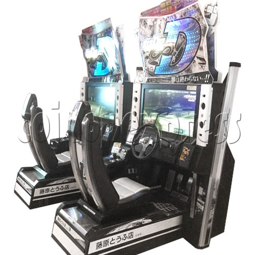Initial D' Arcade Stage Version 8 Infinity (2 players with server)  32453