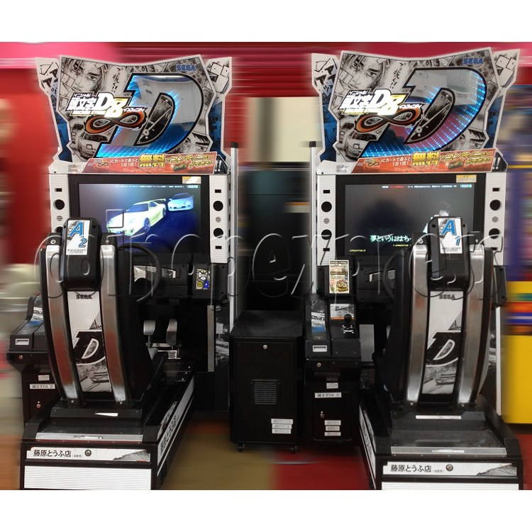 Initial D' Arcade Stage Version 8 Infinity (2 players with server) 32455