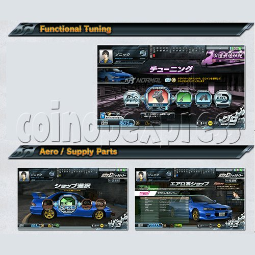 Initial D' Arcade Stage Version 8 Infinity (2 players with server) 32460