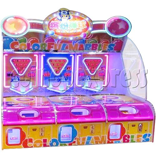 Colorful Marbles Skill Test Prize machine 32743