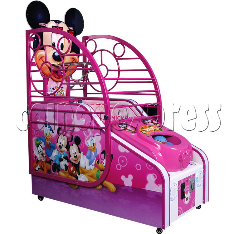 Cute Mouse Foldaway Basketball Machine for kids 32762