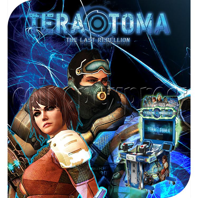 TeraToma: The Last Rebellion Video Shooting Game 32821