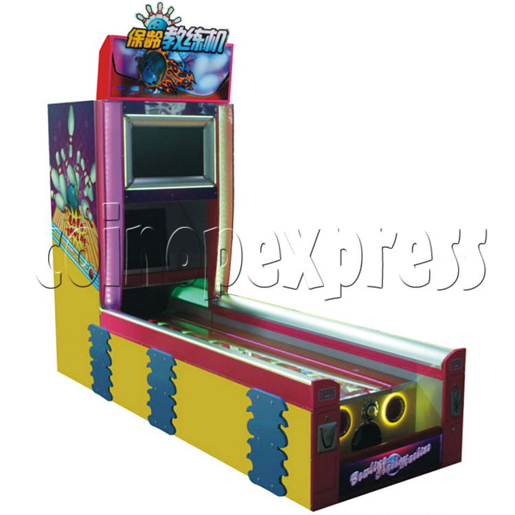 Bowling Coach Video Game Machine 32845