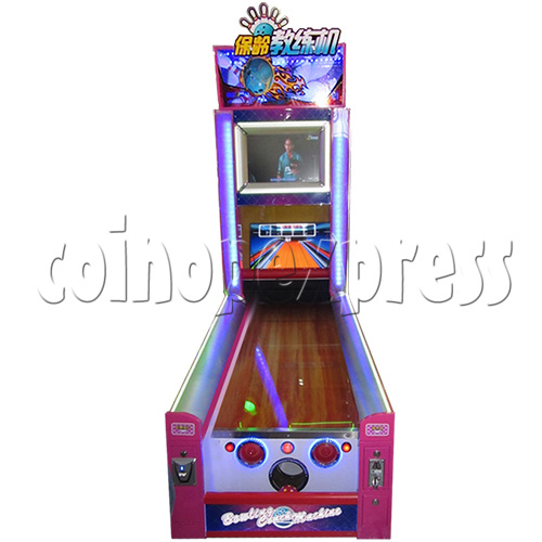 Bowling Coach Video Game Machine 32940