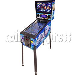 Coin Operated Video Pinball Machine for Adult