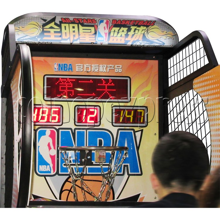 NBA Stars Card Redemption Basketball machine 33734