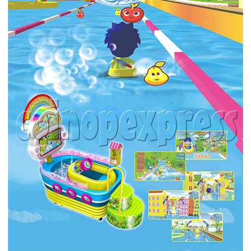 Happy Cruise Water Fun Rider For Kids 33459