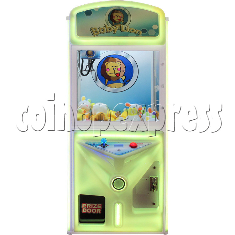 Baby Lion Color Changing Crane machine 33647