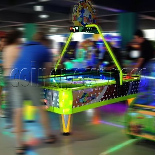 Top World Coin Operated Air Hockey ( 4 players) 34608