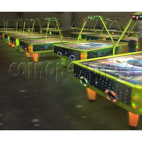 Top World Coin Operated Air Hockey ( 4 players) 34609