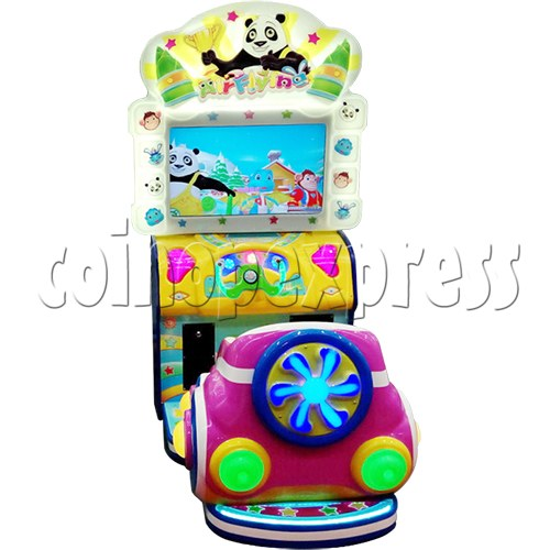 Air Flying Driving Game machine for Kids 33696