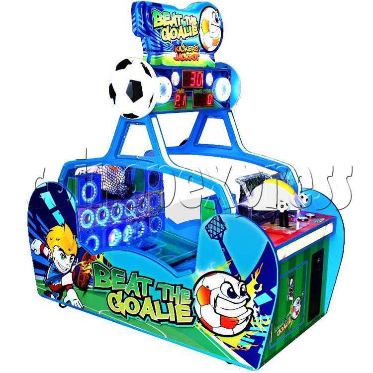 Beat the Goalie Balls Shooter Game 33790
