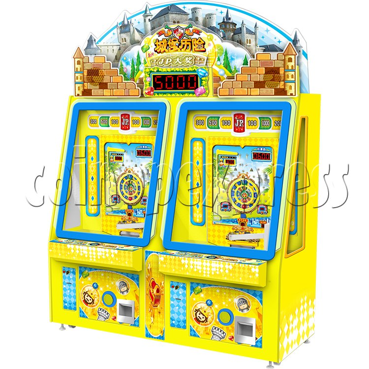 Adventure Castle Coin Pusher Ticket machine (2 players) 34043