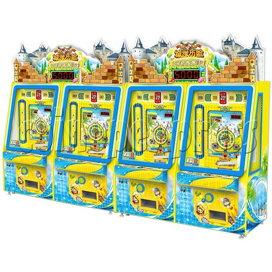 Adventure Castle Coin Pusher Ticket machine (2 players) 34046