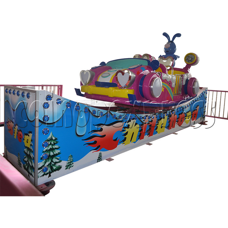 Flying Skiing Car Adventure Park Ride (9 players) 34246