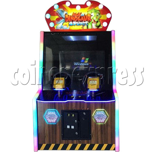 Age of Dinosaur Redemption Arcade Machine  2 players 34357