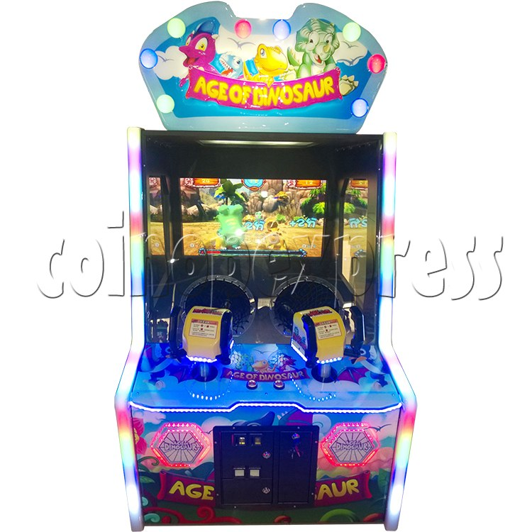 Age of Dinosaur Redemption Arcade Machine  2 players 34358