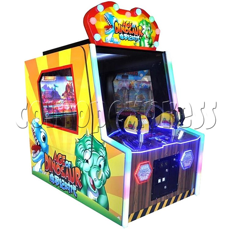 Age of Dinosaur Redemption Arcade Machine  2 players 34359