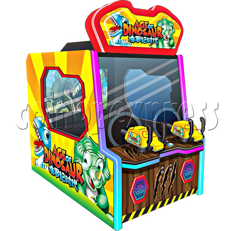 Age of Dinosaur Redemption Arcade Machine  2 players 34360