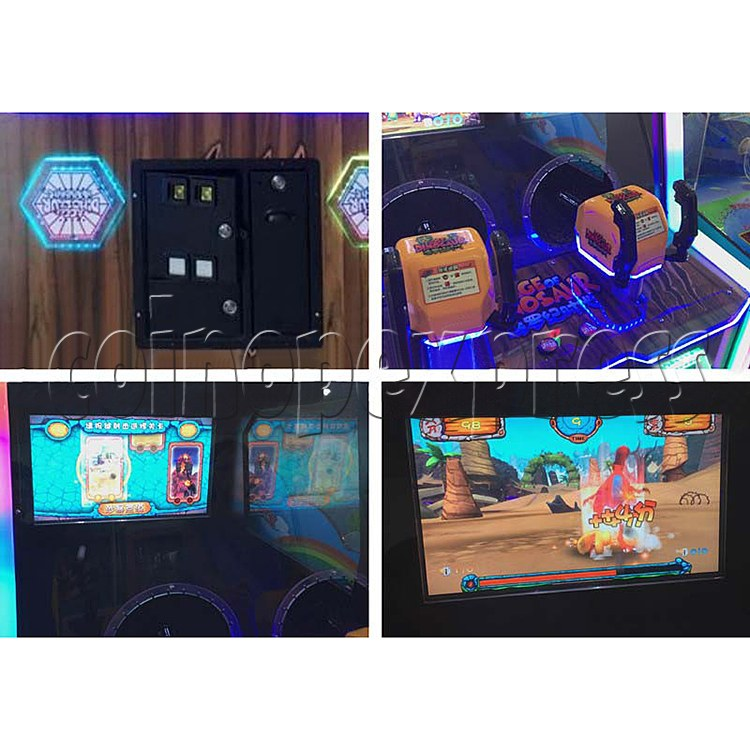 Age of Dinosaur Redemption Arcade Machine  2 players 34363