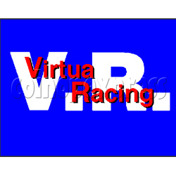 VIRTUA RACING-DX (SEGA) game board